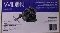 Wilton 11605 Mv6b 6 Milling Machine Vise With 360 Degree Swivel Base