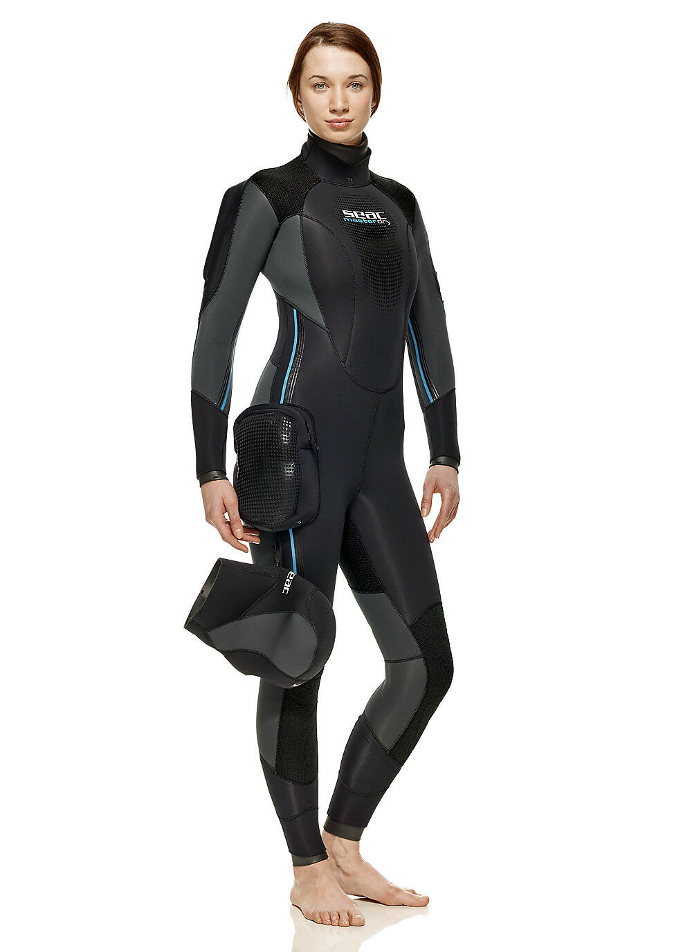 Seac   Master Dry   Lady - Semi Dry Suit 7 Mm, with Separate Hood