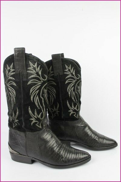 Boots EMMANUEL DE GREY All Leather et Black Suede T 37,5 BE