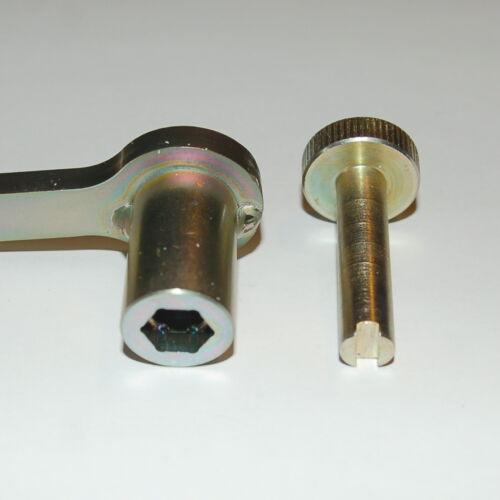 Honda Tappet Adjust Tool for CB350F CB400F 400//4 350 400 SOHC Four 1970s HWT026