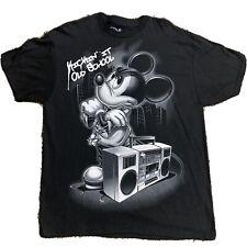 MICKEY HANDS CALI Gloves Cartoon Mouse T-shirt Hip Hop Disney Long Sleeve Tee