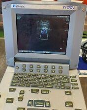 Sonosite Titan Ultrasound With Probe C11 8 5 Mhz Curved Array