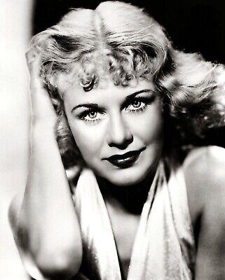 Ginger Rogers Film Star Dancer 10x8 Glossy Black /& White Photo Print Poster No.2