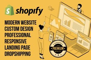 I Will Professionally Build Your 7-Figure Shopify Dropshipping Store 100% Ready