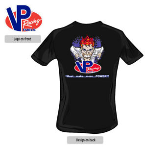 ORIGINAL VP RACING FUELS Youth Mad Scientist Kids T-Shirt Black VP045
