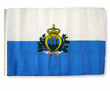 "12x18 12/""x18/"" San Marino Sleeve Flag Boat Car Garden"