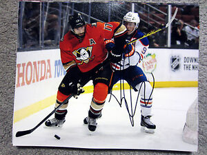 RYAN KESLER Anaheim Ducks SIGNED Autographed 8X10 Photo w/ COA