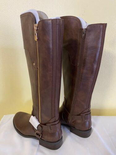Guess Dark Brown Over the knee Boots Harson 7.5