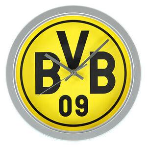 BVB-Football-Sports-Borussia-Dortmund-Wall-Clock