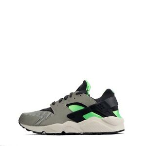 7d082a6318cc Nike Air Huarache Men s Casual Gym Lace up Shoes in Grey Green