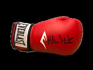 DAVID HAYEMAKER HAYE SIGNED EVERLAST BOXING GLOVE COA PROOF WORLD CHAMPION