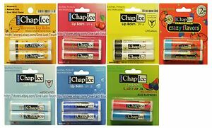 ORALABS-2pc-Lip-Balm-Gloss-CHAP-ICE-Soothes-Protects-Exp-1-19-YOU-CHOOSE-1a