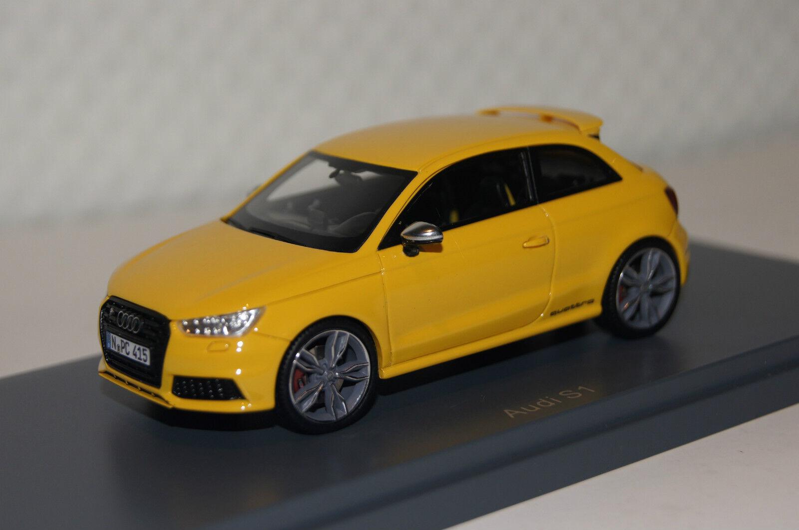 Audi S1 gelb gelb gelb 1 43 Neo neu & OVP 46415    Neuheit Spielzeug  b7e2f6