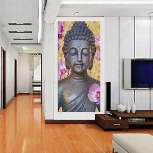 Details About Modern Large Canvas Oil Painting Home Living Room Wall Art Decor Buddha A S