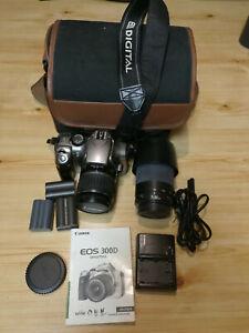 Canon EOS 300D DSLR Spiegelreflexk