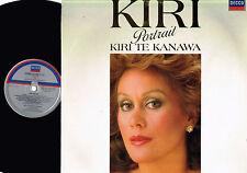 Kiri Te Kanawa PORTRAIT VINYL LP Decca DIGITAL 1985 Netherlands 417 645-1 @Exlnt