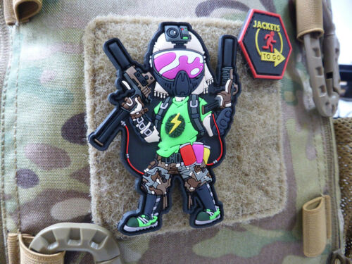 Speedgame Airsoft Anatomy Operator Patch 3D Rubber Patch