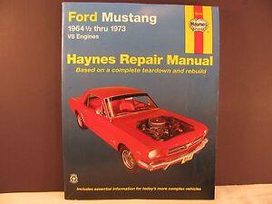 ford mustang v8 automotive repair manual