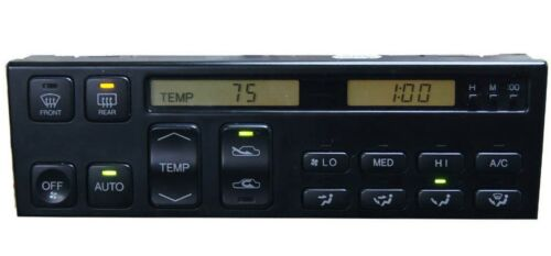 Lexus SC300 SC400 92 to 96 /& 90 to 94 LS400 Climate Control LCD Repair Service