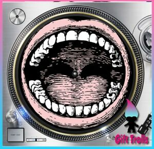 Open-Mouth-Turntable-Slipmat-12-034-LP-Record-Player-DJ