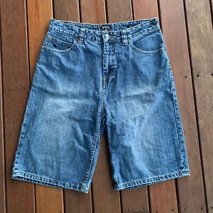 Girls-Ripcurl-Size-14-Denim-Shorts-Buller-Walkshort-Knee-Length-Casual