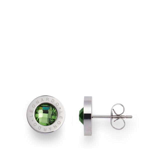 LEONARDO Jewels Ohrstecker Matrix grün Ohrschmuck Ohrringe Damenohrringe Schmuck