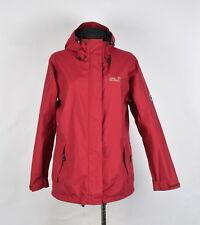 Jack Wolfskin Hooded Texapore Women Waterproof Jacket Size EU-L,UK-14/16, Genui