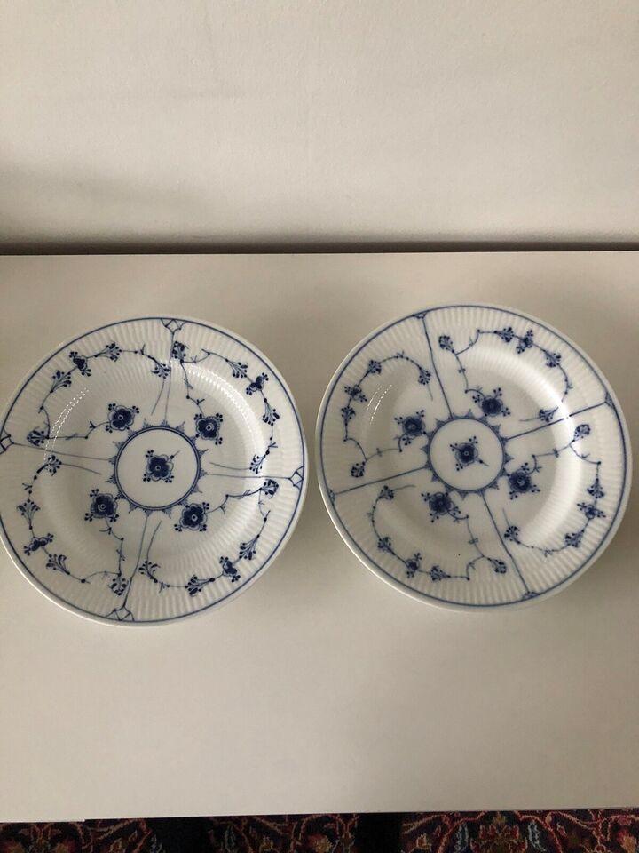 Porcelæn, Tallerken