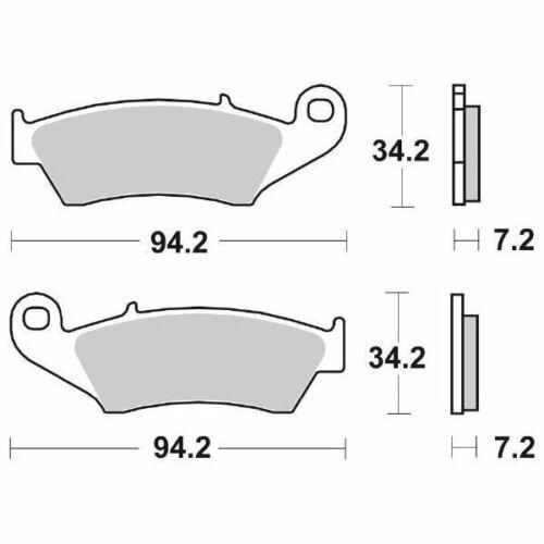 Pastiglie Anteriori Ceramica SBS 694HF 6566940 GAS GAS MC 250 2000/>2011