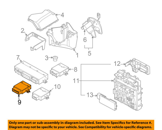 BMW Z4 Convertible Top Module OEM Factory 6135-6954776 | eBay