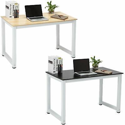 Wood Computer Desk Pc Laptop Table Study Workstation Home Office Furniture Ebay
