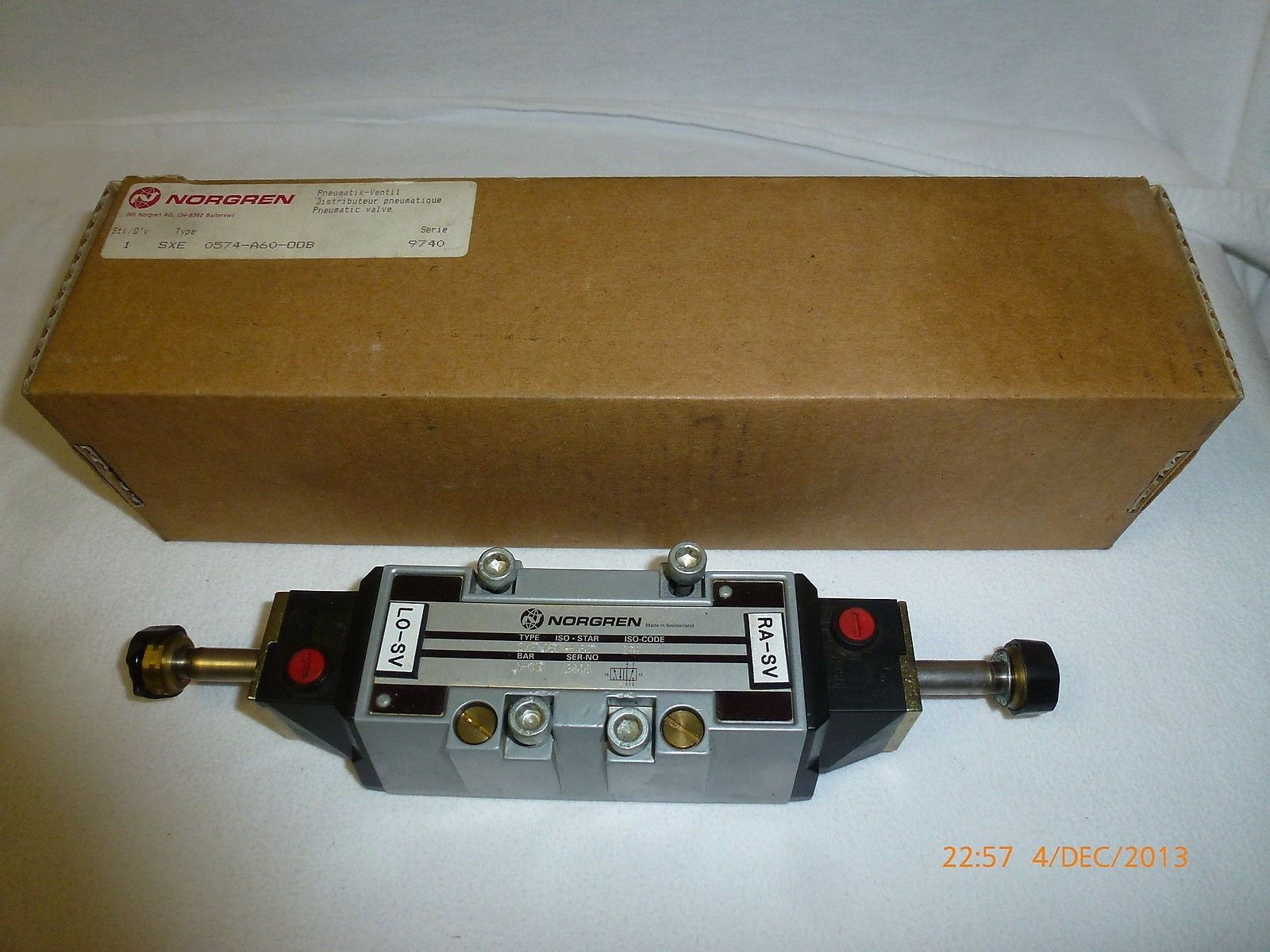Norgren Iso Star Solenoid Valve Sxe 0574 A60 00b Series 9740 2 10bar 10pcs Reed Switches Magic Switch Induction No Nc Spdt Norton Secured Powered By Verisign