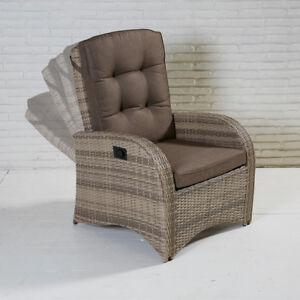Das Bild Wird Geladen Living Sessel Turin Rabida Natur Geflecht  Gartensessel Sessel