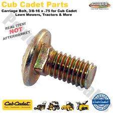 Cub Cadet 710-3168 Bolt-Carriage 3//8