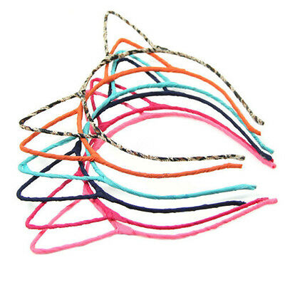 Lovely Women Girls Sweet Nice Stylish Simple Cat Ears Headband Hair Band Gift