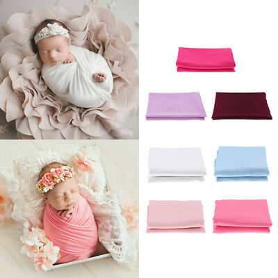 Newborn Baby Photography Photo Shoot Props Outfits Blanket Wraps HT