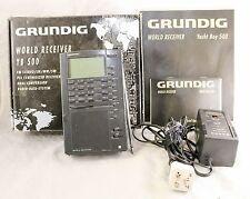 Grundig Yacht Boy YB-500 AM/FM/Shortwave Radio RDS LSB/USB -Needs Antenna Repair