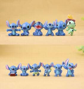 12Pcs-Disney-Anime-LILO-amp-STITCH-Figura-de-Accion-Juguetes-Coleccionables-Ninos-Regalo-de-Navidad