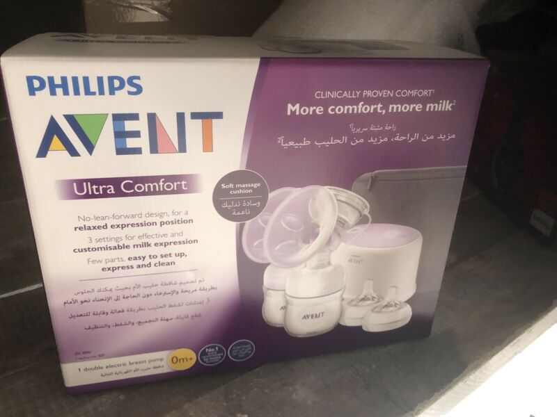 Avent twin breast pump , new sealed in box