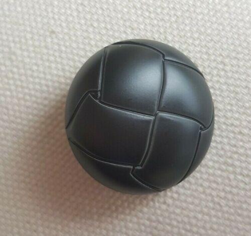 Vintage Mirada de cuero botones redondos – caña Plástico 15-25MM Retro Chic UK