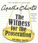 The Witness for the Prosecution, and Other Stories by Agatha Christie (CD-Audio, 2016)