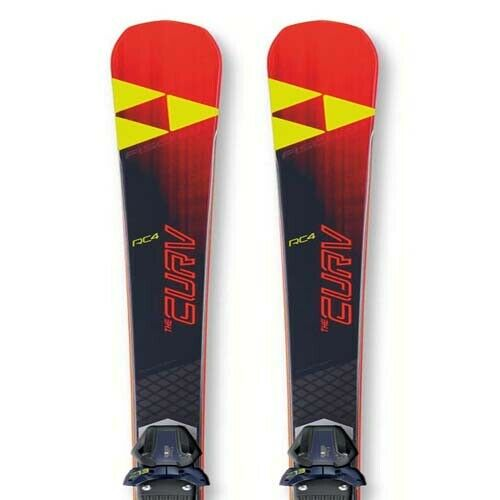 Fischer 2019 Curv Pro Skis w RC4 Z13 FreeFlex Bindings NEW    164,171,178cm