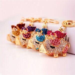 Lovely-Pig-Shape-Pendant-Keychain-Animal-Dangle-Key-Ring-Chain-Handbag-Decor