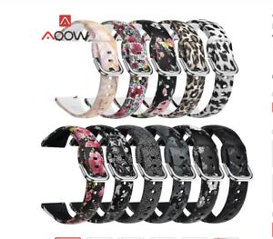 Recambio para Correa Xiaomi Amazfit  Bip Smartwatch Pulsera Silicona flores