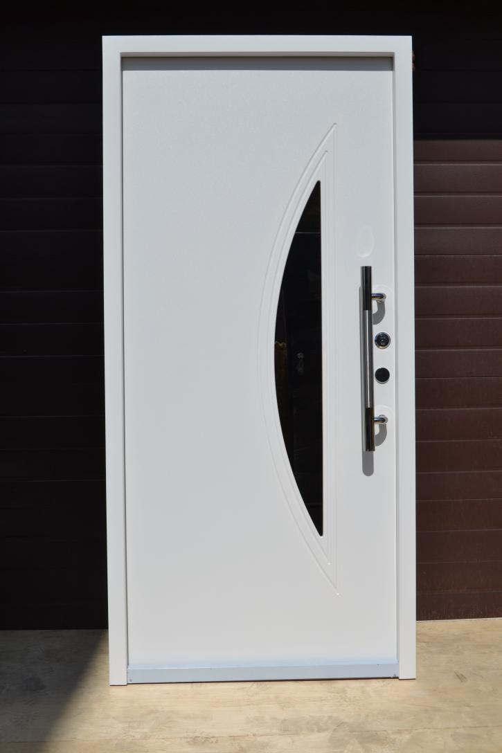 Nr.1, Haustüren Sicherheitstüren Haus-eingangstür Moderne Tür Sonderaktion weiß