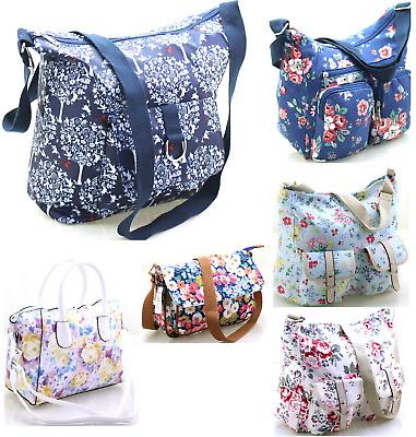 Across Cross Body Shoulder Bag Handbag Printed Oilcloth Large Messenger Ladies