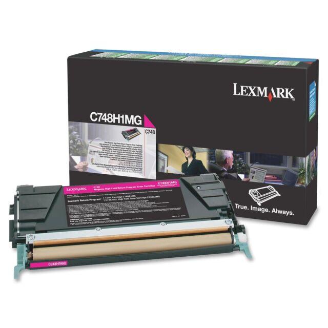 Original Lexmark C748H3MG Toner Magenta C748H1MG C748 A-Ware
