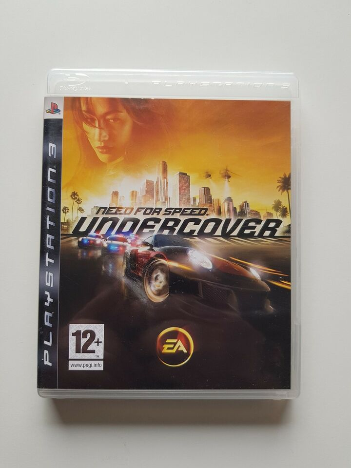 Need for speed, undercover, PS3