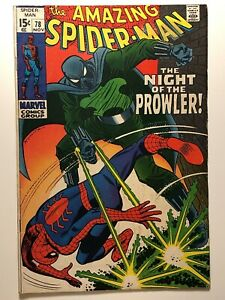 Amazing-Spiderman-78-Prowler-1st-Appearance-Silver-John-Buscema-Stan-Lee