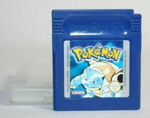 Pokemon Blau Blue Nintendo Game Boy AUTHENTIC & Tested! RARE GERMAN VERSION!